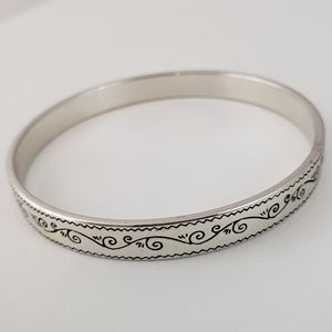 Brighton Silver Tone Bangle Bracelet